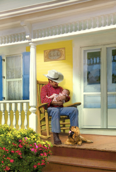 The Cowboy Next Door ~ Steeple Hill Books